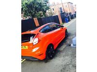 Ford fiesta red edition alloys