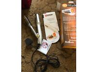 2 in 1 curling iron and straighner