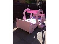 Princess Carriage bed 3ft