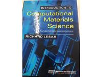 Book, Introduction to Computational Material Science