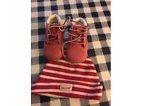 Timberland shoe&hat