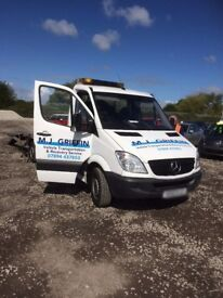 M J Griffin - Vehicle Recovery and Transportation services - All Kent Area Covered.