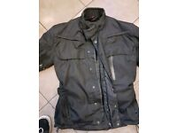 Hein Gericke waterproof motorbike suit XL extra large - trousers and jacket - armoured