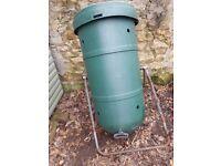 Rotating garden composter