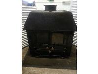 Log Burner stoves & 4 radiators