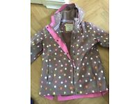 Girls Joules coat age 11/12 years