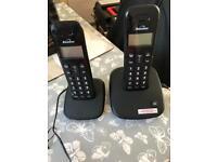 Pair of home phones