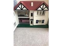 Vintage Children's doll house