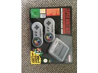 BNIB Nintendo Classic Mini: Super Nintendo Entertainment System
