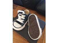 Size 2 infant converse