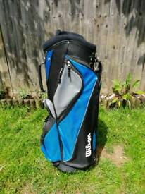 Ladies Wilson Kinetic Golf Clubs & Bag.