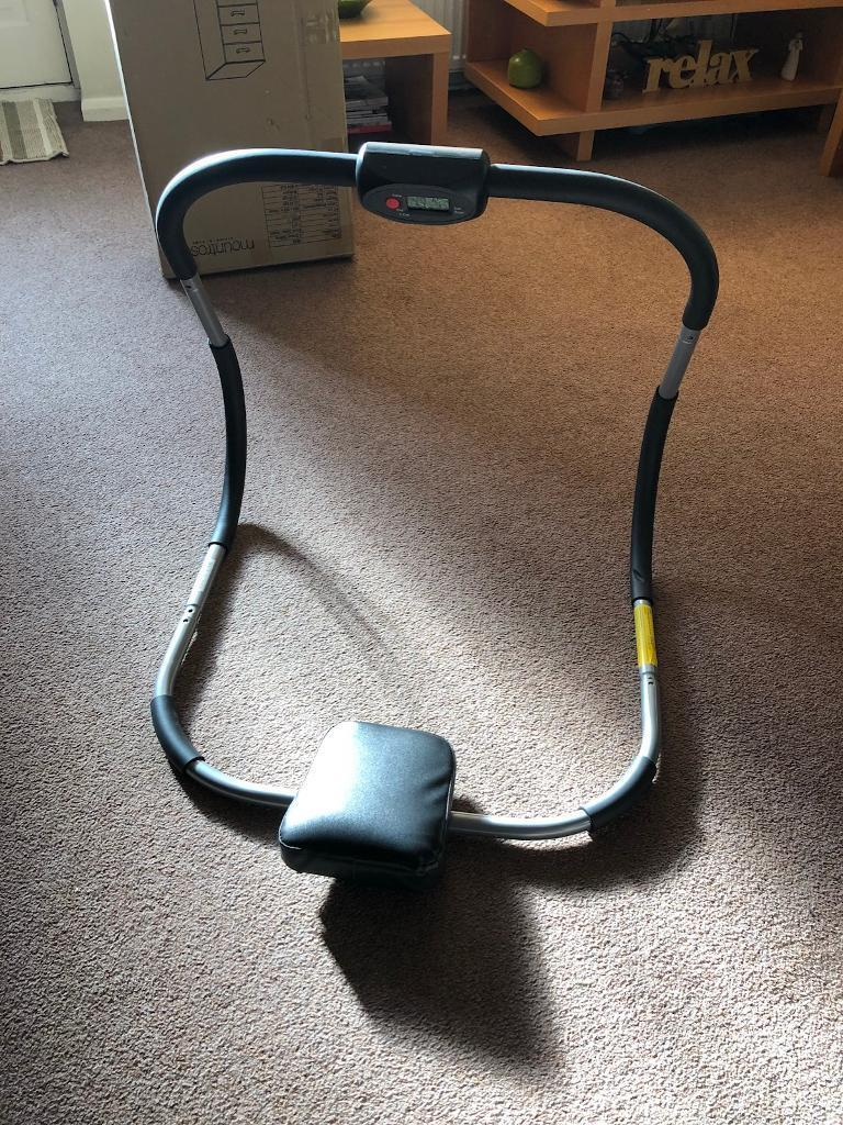 AB & Sit Up Exerciser With Counter