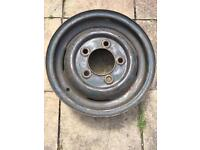 Land Rover Series One 1 Steel Wheel Rim 231601 7 / 57 July 1957 4.5 x 16 4 1/2