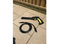 Karcher gun and hose
