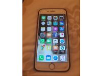 I phone 6 16gb rose gold, little crack in bottom of screen other than great condition