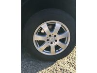"""Mercedese ML 17"""" Alloy Wheels and Good Tyres 235 65 R17"""