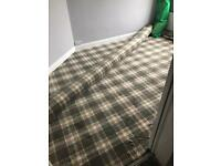 Carpet roll end