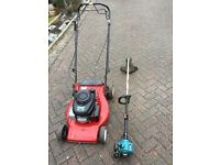 Honda mount field petrol lawn mower makita trimmer strimmer