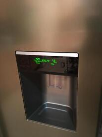 Samsung American style fridge and freezer