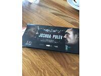Anthony Joshua v Pulev at Principality stadium 4 tickets for sale block M23 .
