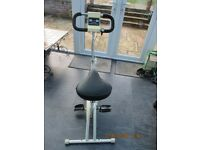 EXERCISE BIKE, LEISUREWISE 2500 DUAL ACTION WITH ELECTRONIC READOUT FACILITY