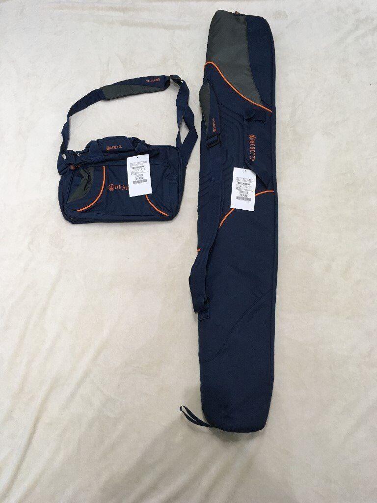 BRAND NEW Beretta Gun Slip (138cm) and Cartridge Bag (250)