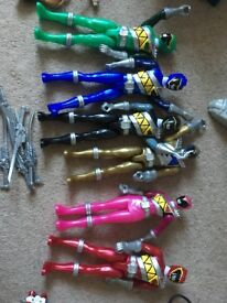 Power Rangers Dino Supercharge Mega Figure Pack