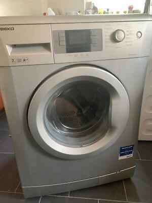 Beko washing machine sliver