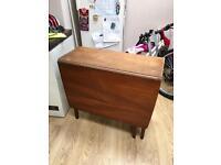 Wood foldaway table