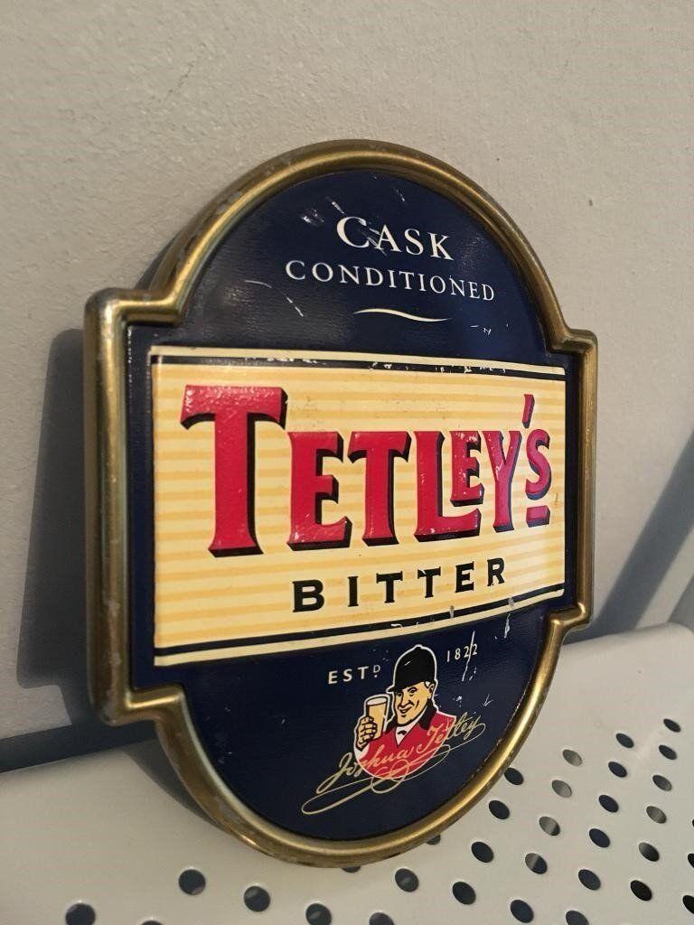 Vintage Collectable Tetleys Bitter Bar Pump - Whitefield