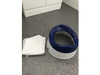 Travel potty with new liners for boy or girl