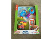 Little Tikes My First Fun Pack - Brand New