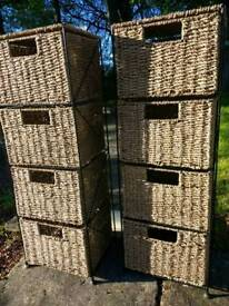 8 Seagrass Drawers