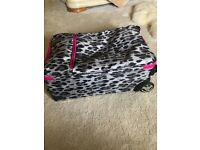 Small I.T. Leopard Print Suitcase