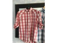 2 chequered shirts medium