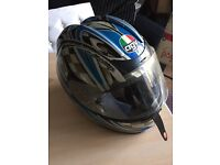 Motor bike helmet . Needs s clean but good condition . Size 02 med . Collection only