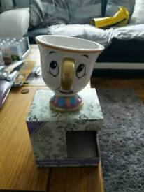 Beauty and the beast chip cup