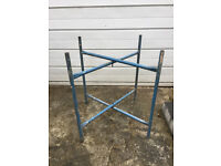 BUILERS/ GARDENERS -- FOLDING TABLE FRAME / STAND ( BARGAIN )