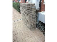 1800 used commercial grade paving blocks