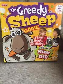 The greedy sheep game