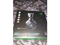 New in box Razer MAN O WAR