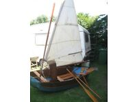 G.PROUT & SONS. VINTAGE SEABIRD FOLDING DINGHY