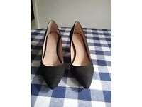 Black shoes from next