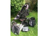 Phil and Ted Sport pushchair with rain cover and cocoon