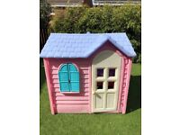 Girls Little Tikes Pink Country Cottage Playhouse