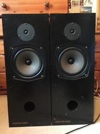 X4 speakers (2sets) mordaunt paired speakers, r352 stereo speakers