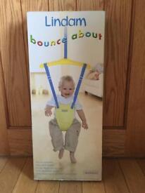 Lindam bounce about door bouncer