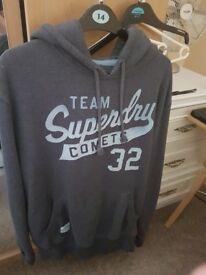 Superdry hoodie mens (large)