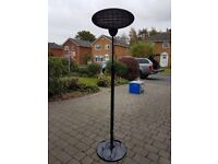 Electric adjustable Patio Heater - Used for 4 hours - great for parties
