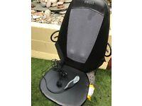 Homedics Shiatsu massage chair with heat. As new